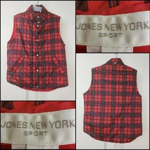 Jones New York Sport Men Winter Puff Vest Medium